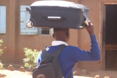 Carrying goods on the head 5
