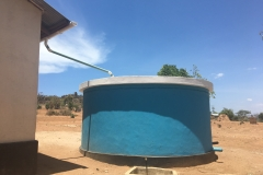 Guttering and water tanks 1